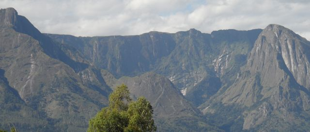 Mulanje : Another parts of the Massif, here seen from below